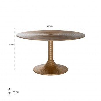 Table de salon Dexter 77Ø Tables basses rondes - 116