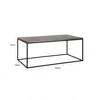Table de salon Lanson Tables basses rectangulaires - 151