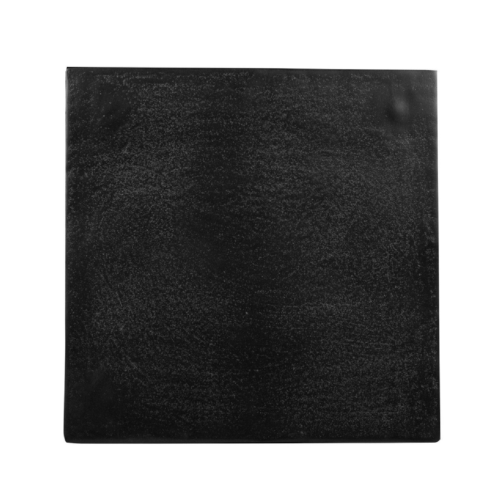 Table d'angle Bolder aluminium noir Meuble Déco Tendance - 814