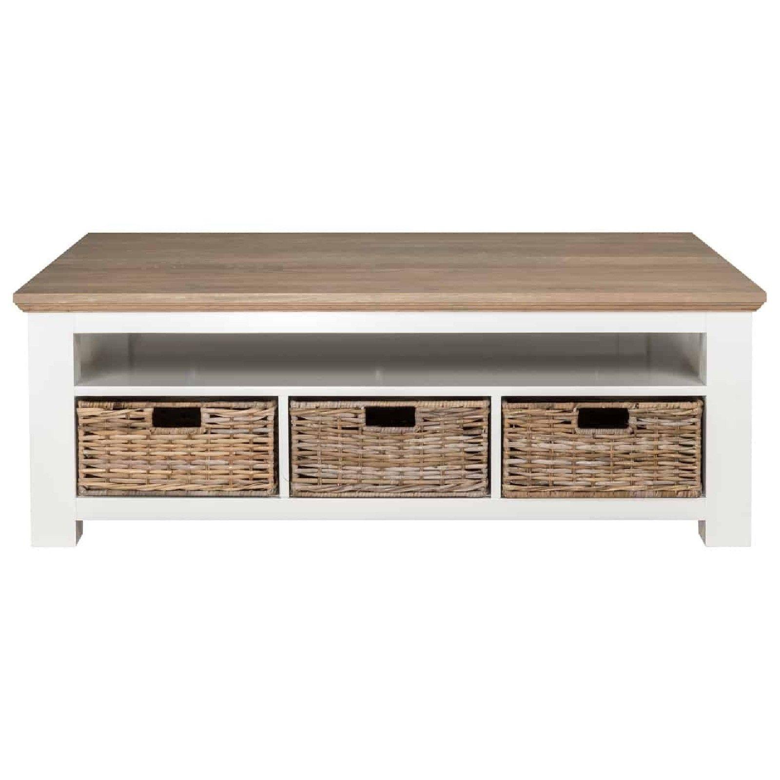 Table de salon Cardiff Tables basses rectangulaires - 45