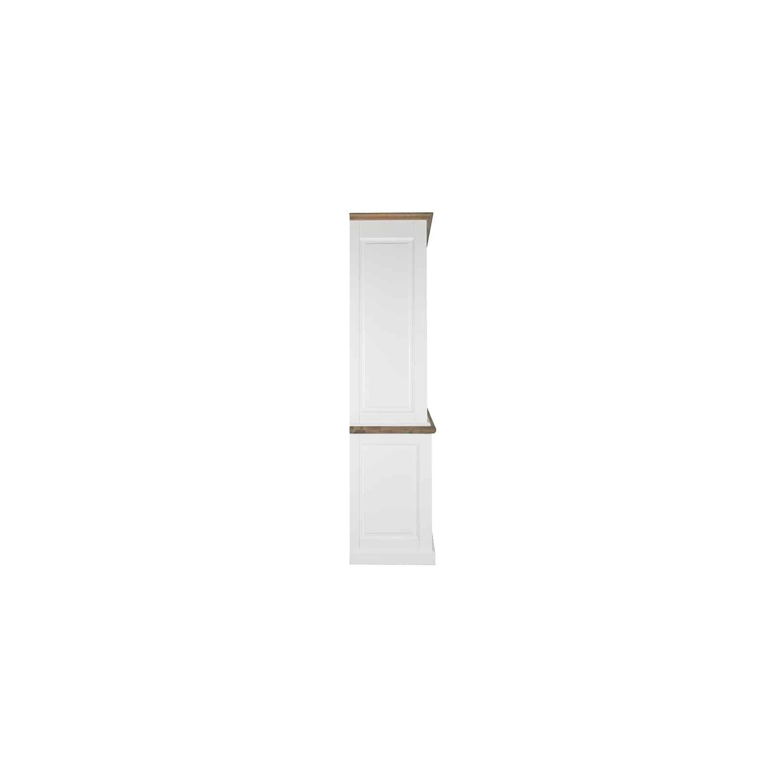 Buffet Vaisselier vitré Cardiff 2x2-deuren 2-tiroirs + Oak Meuble Déco Tendance - 18