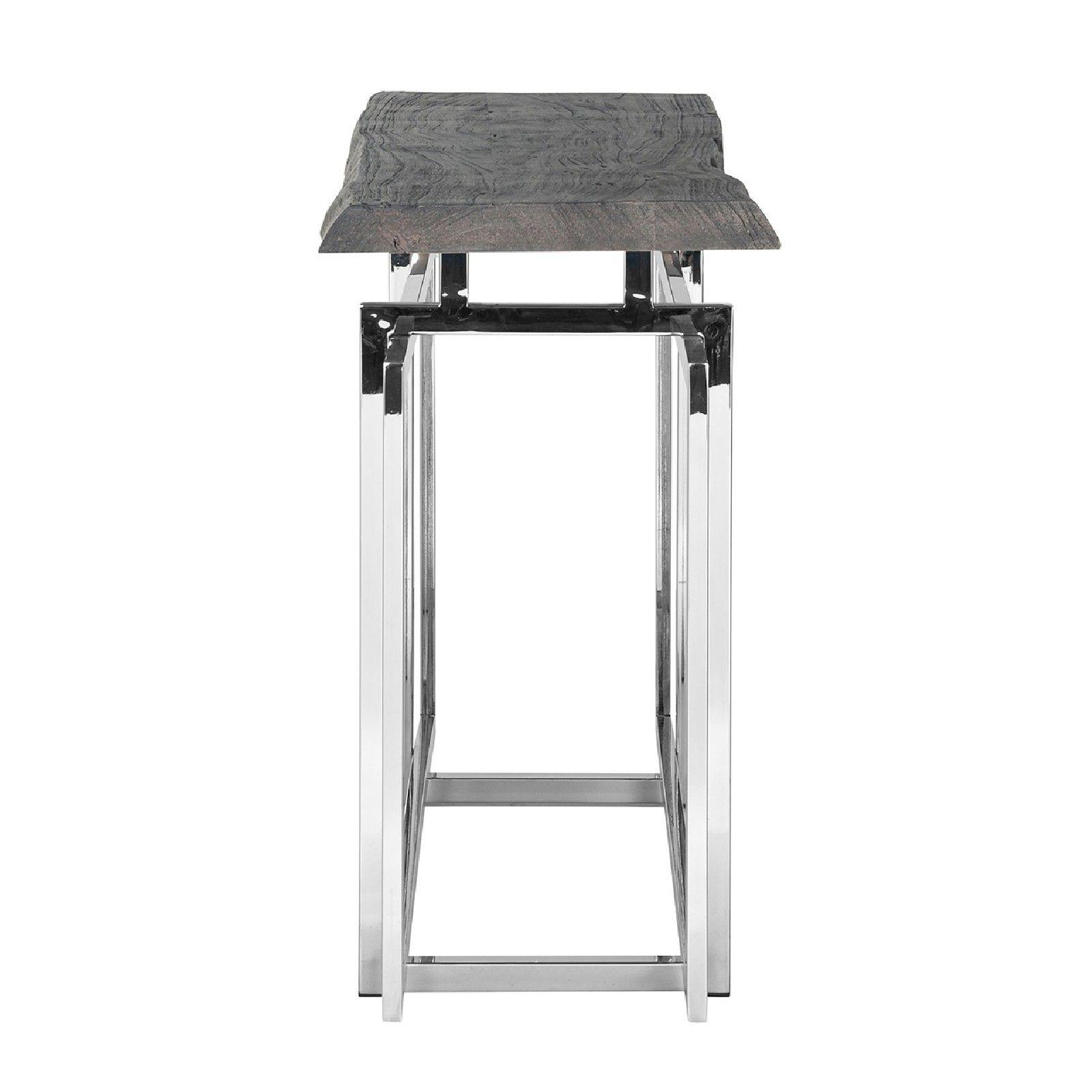 Console TuxedoBord du plateau de table peut varier par article, produit naturel Meuble Déco Tendance - 70