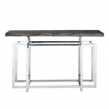 Console TuxedoBord du plateau de table peut varier par article, produit naturel Meuble Déco Tendance - 155