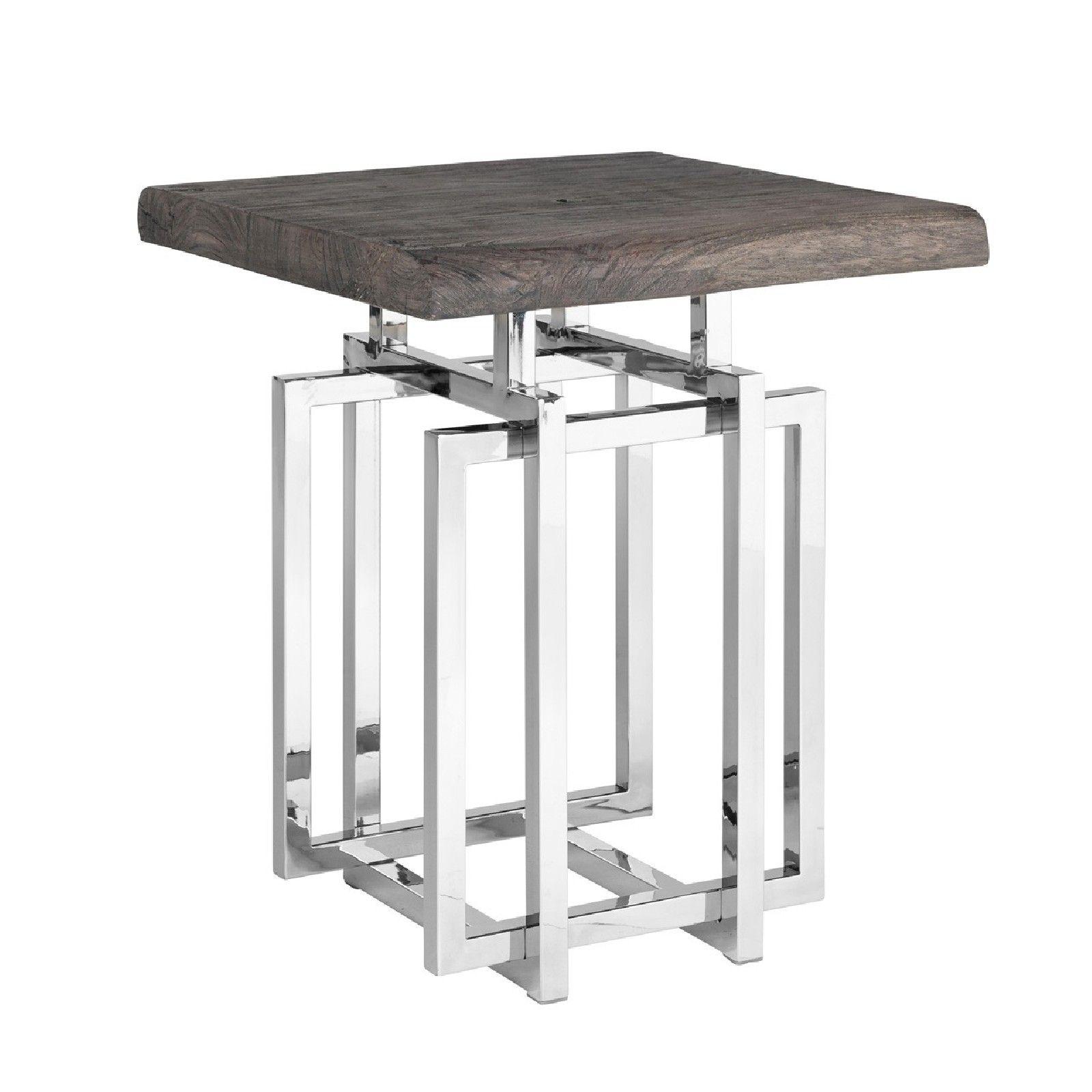 Table d'angle TuxedoBord du plateau de table peut varier par article, produit naturel Meuble Déco Tendance - 32