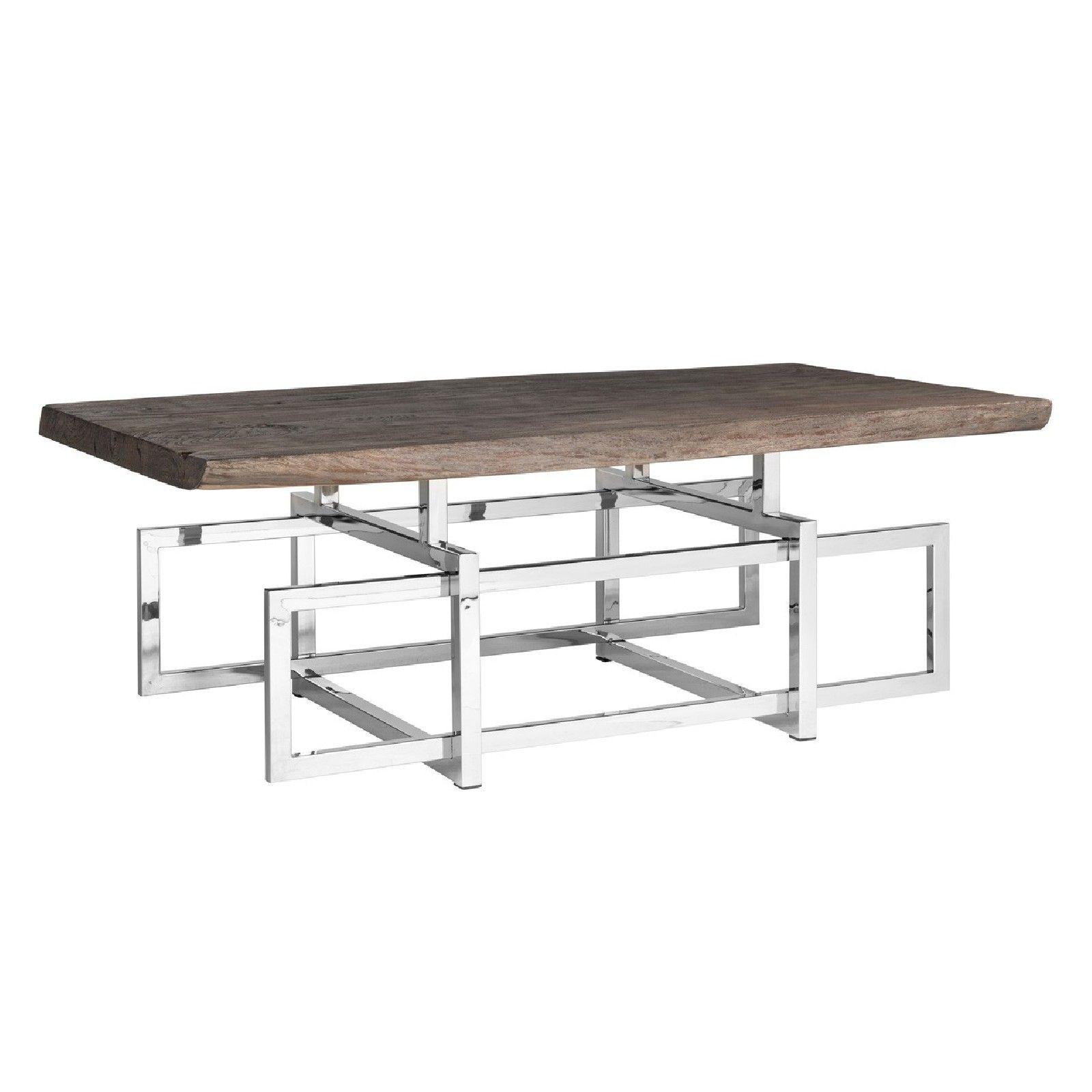 Table de salon TuxedoBord du plateau de table peut varier par article, produit naturel Tables basses rectangulaires - 15