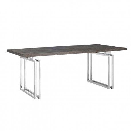 Table à dîner Tuxedo 200Bord du plateau de table peut varier par article, produit naturel