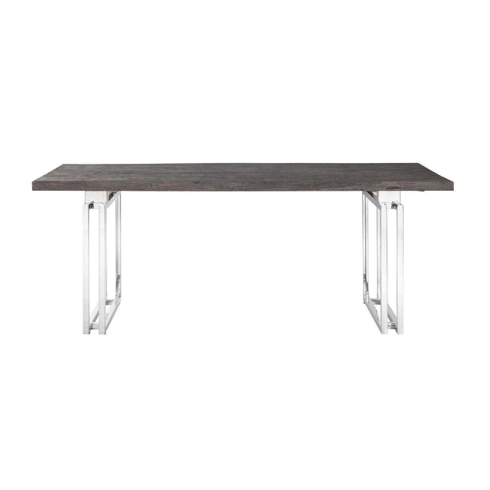 Table à dîner Tuxedo 200Bord du plateau de table peut varier par article, produit naturel Meuble Déco Tendance - 117