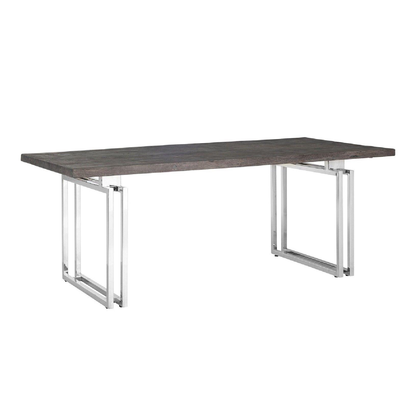 Table à dîner Tuxedo 230Bord du plateau de table peut varier par article, produit naturel Meuble Déco Tendance - 26