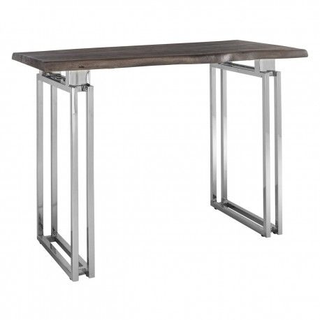 Table bistro TuxedoBord du plateau de table peut varier par article, produit naturel