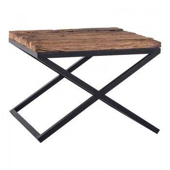 Table d'angle Industrial Kensington 60x60 Meuble Déco Tendance - 27