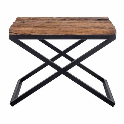 Table d'angle Industrial Kensington 60x60 Meuble Déco Tendance - 57