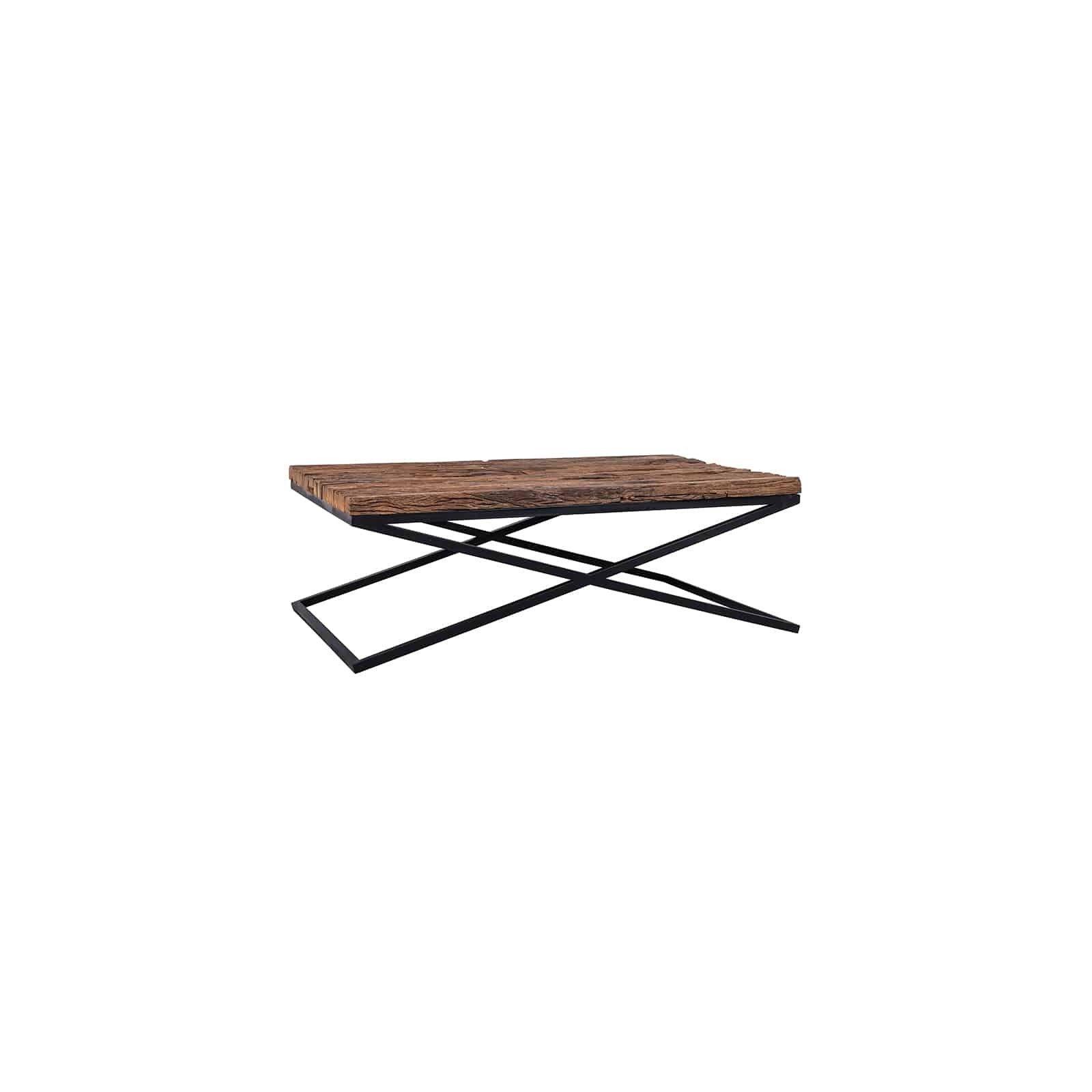 Table de salon Industrial Kensington Tables basses rectangulaires - 12