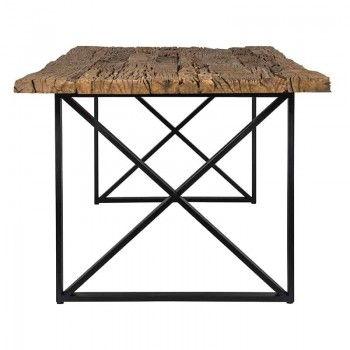 Table à dîner Industrial Kensington 200 Meuble Déco Tendance - 3
