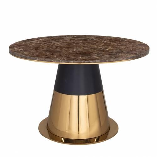 Table a manger Rollos ronde 140Ø Meuble Déco Tendance - 19