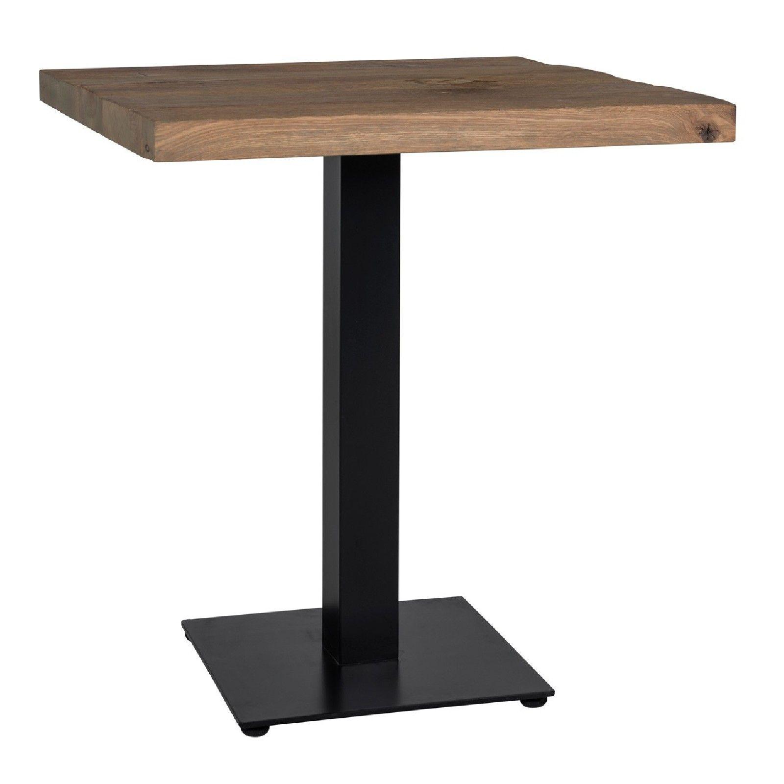 Table à dîner Gastronomy 80x80, un pied square Meuble Déco Tendance - 19