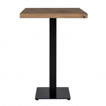 Table bistrot Gastronomy 70x70, un pied square Meuble Déco Tendance - 104