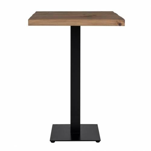 Table bistrot Gastronomy 80x80, un pied square Meuble Déco Tendance - 141