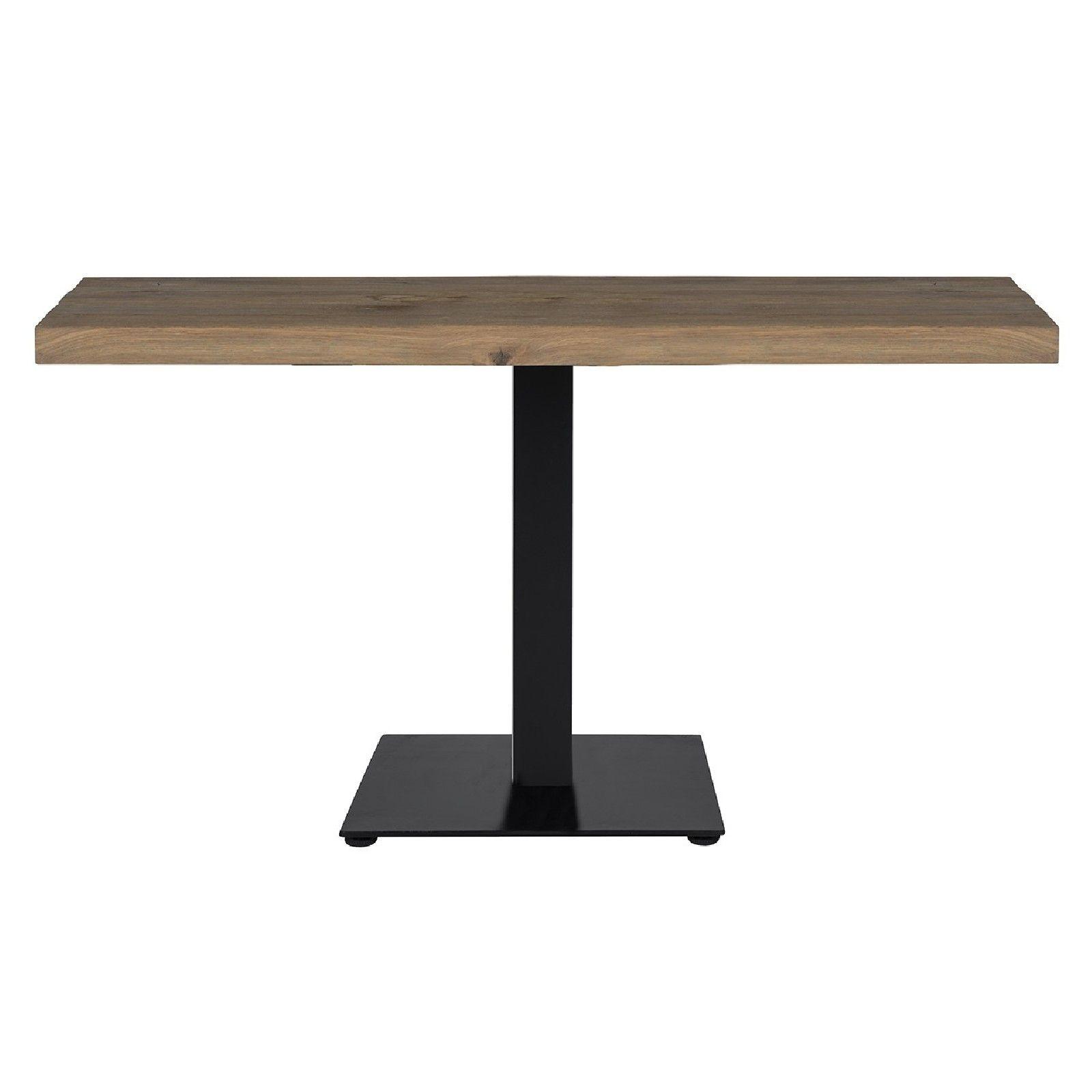 Table bistrot Gastronomy 120x80, deux pieds square Meuble Déco Tendance - 223