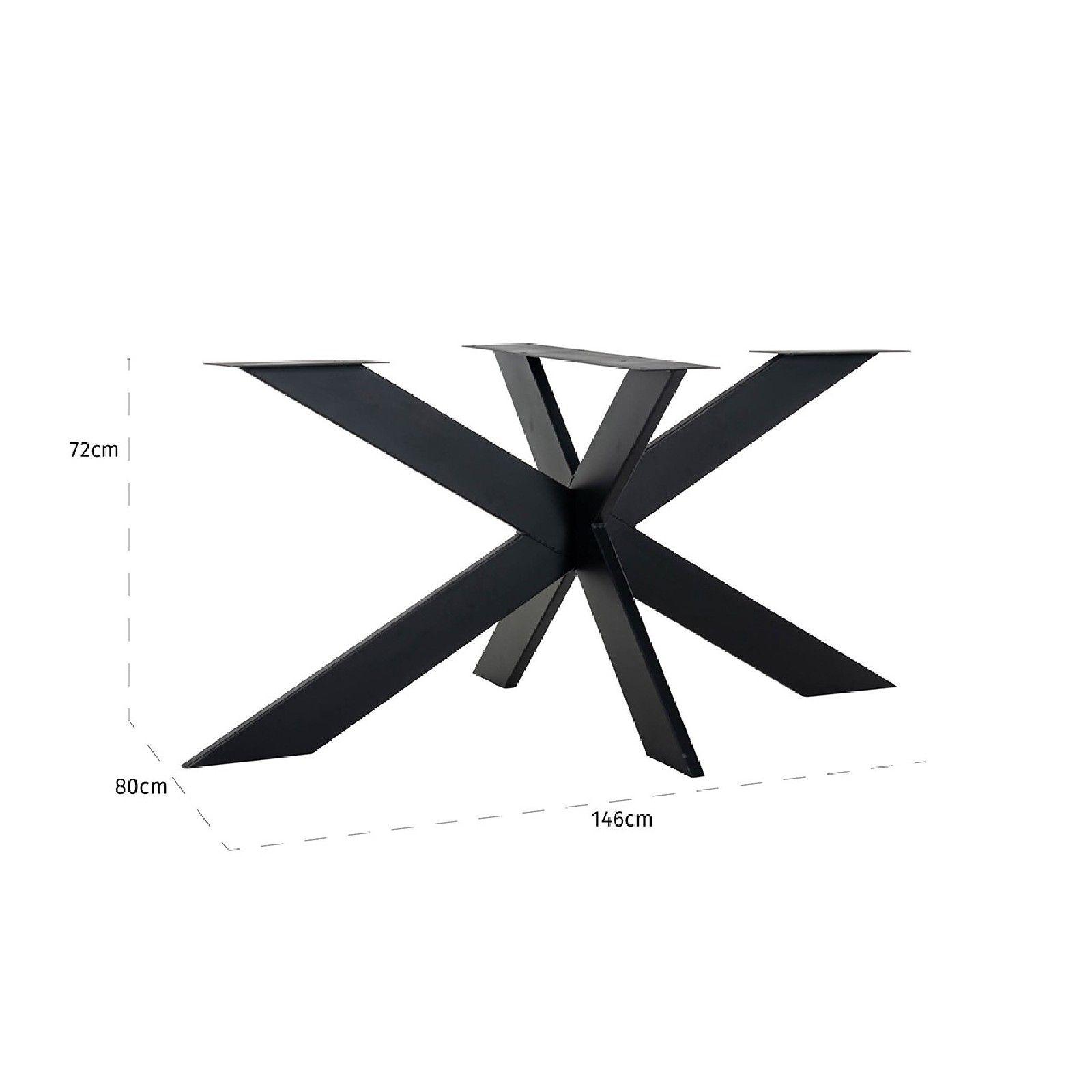 Pied Industrial Oakura Spider Meuble Déco Tendance - 240