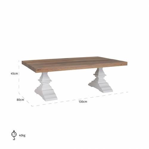 Table de salon Castello Tables basses rectangulaires - 86