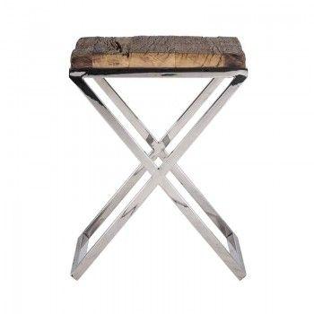 Table d'angle Kensington 45x45 Meuble Déco Tendance - 153