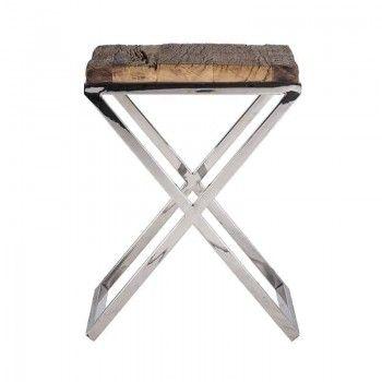 Table d'angle Kensington 45x45 Meuble Déco Tendance - 244
