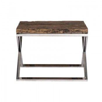 Table d'angle Kensington 60x60 Meuble Déco Tendance - 152