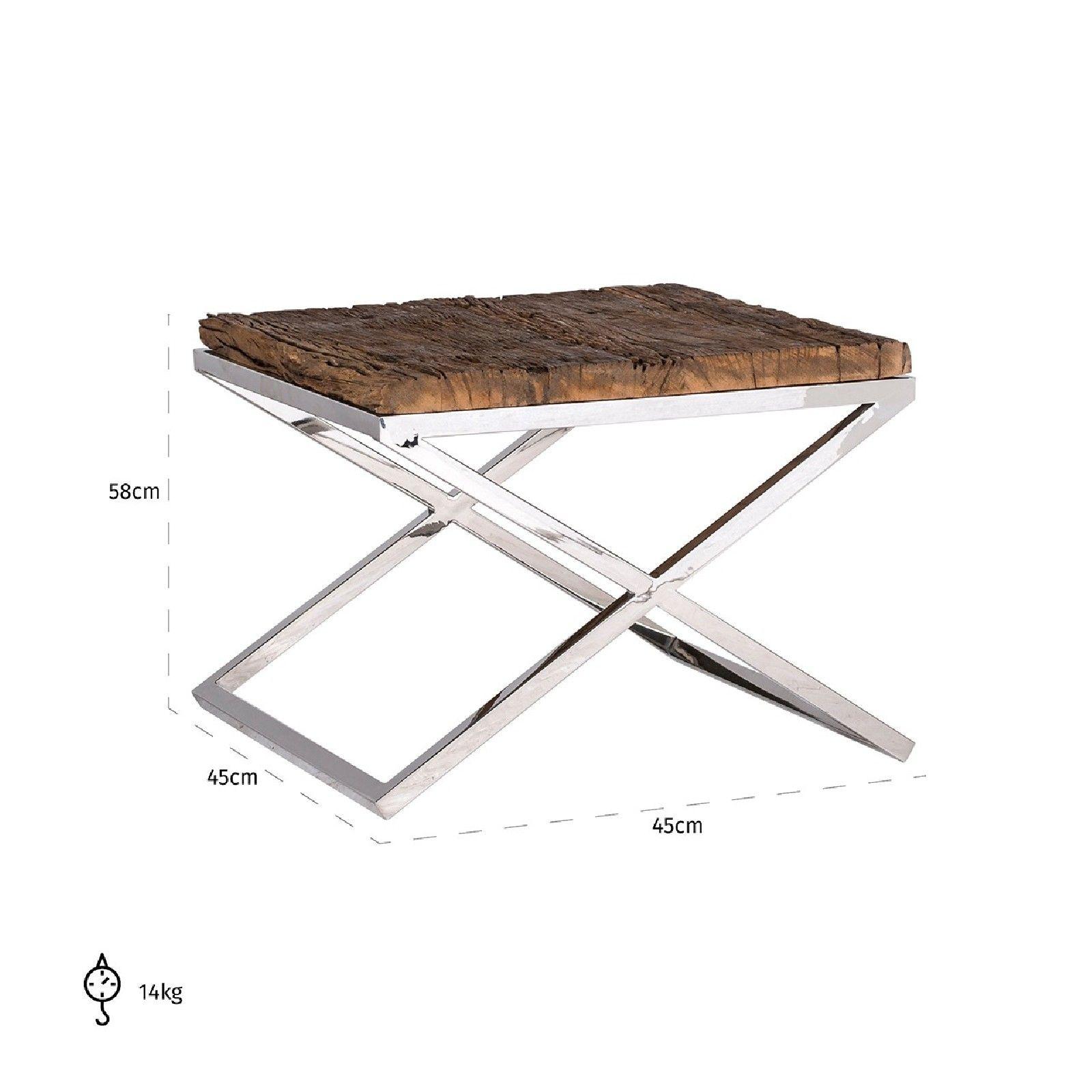 Table d'angle Kensington 60x60 Meuble Déco Tendance - 265