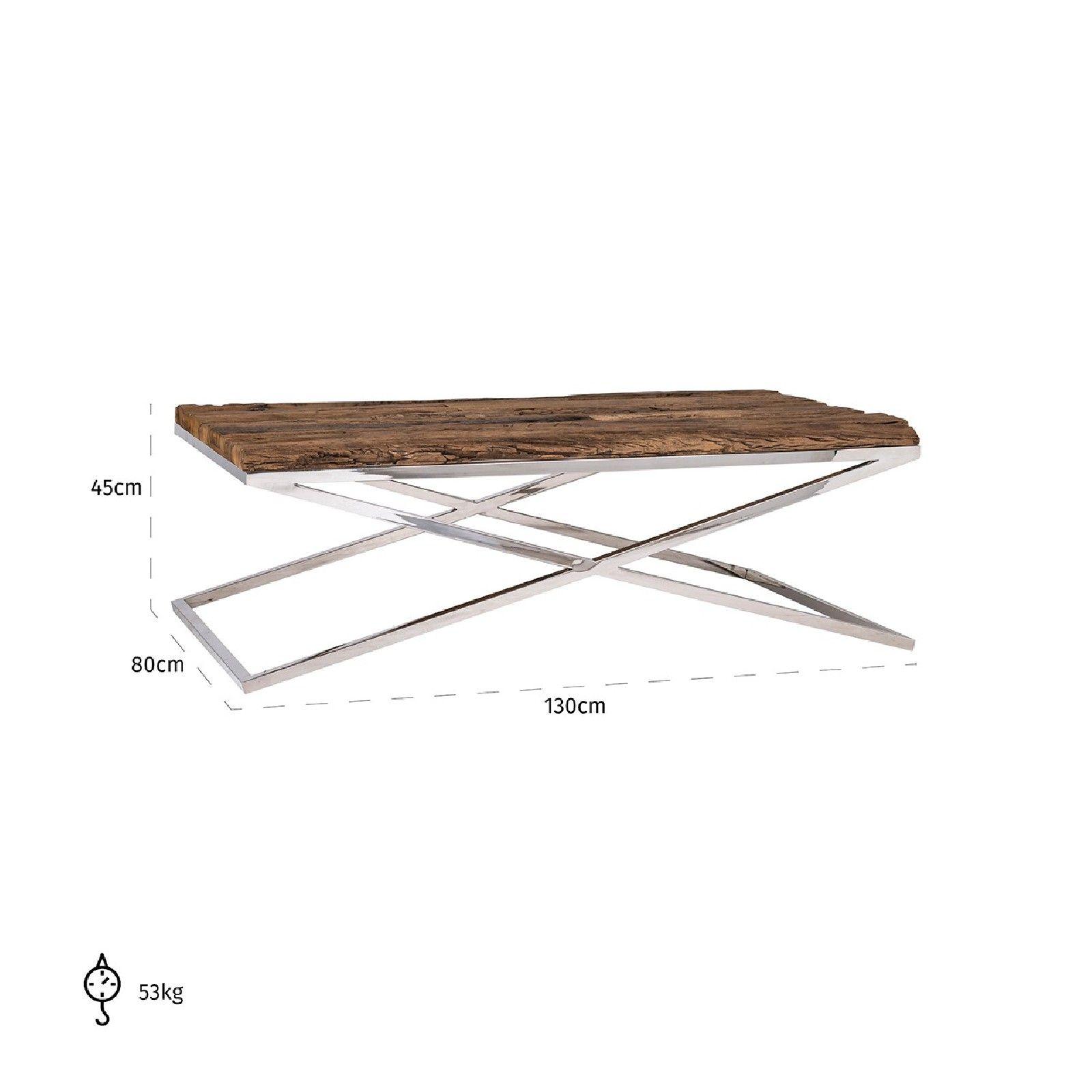 Table de salon Kensington 130x80 Tables basses rectangulaires - 263