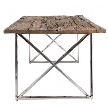 Table à dîner Kensington 180x100 Meuble Déco Tendance - 3