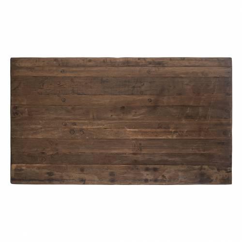 Table de bar Raffles 140x80, bois recyclé Meuble Déco Tendance - 163