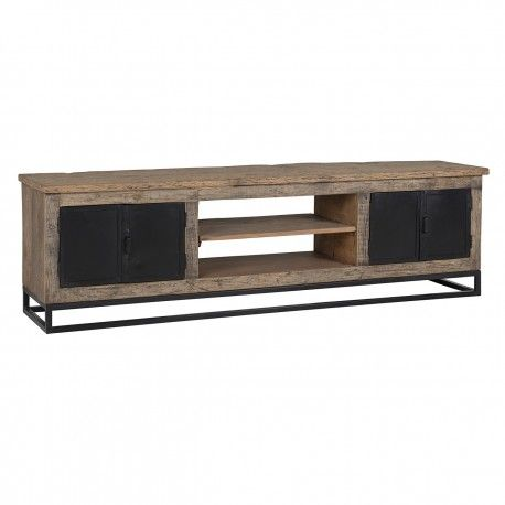 Meuble TV Raffles 4-portes, Recyceld wood