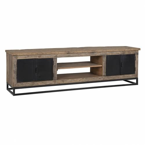 Meuble TV Raffles 4-portes, Recyceld wood Meuble Déco Tendance - 7