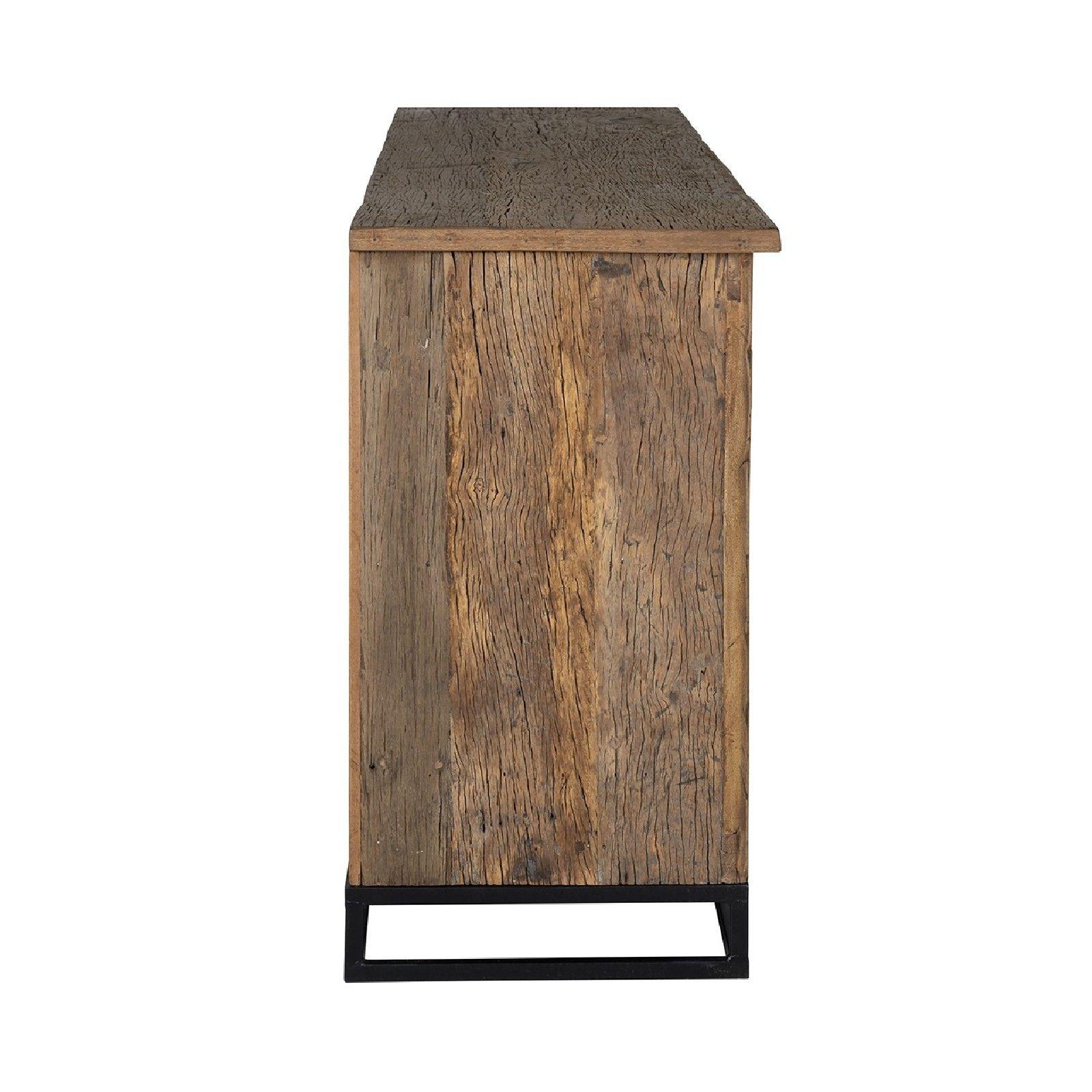 Bahut Raffles 4-portes, Recyceld wood Meuble Déco Tendance - 93