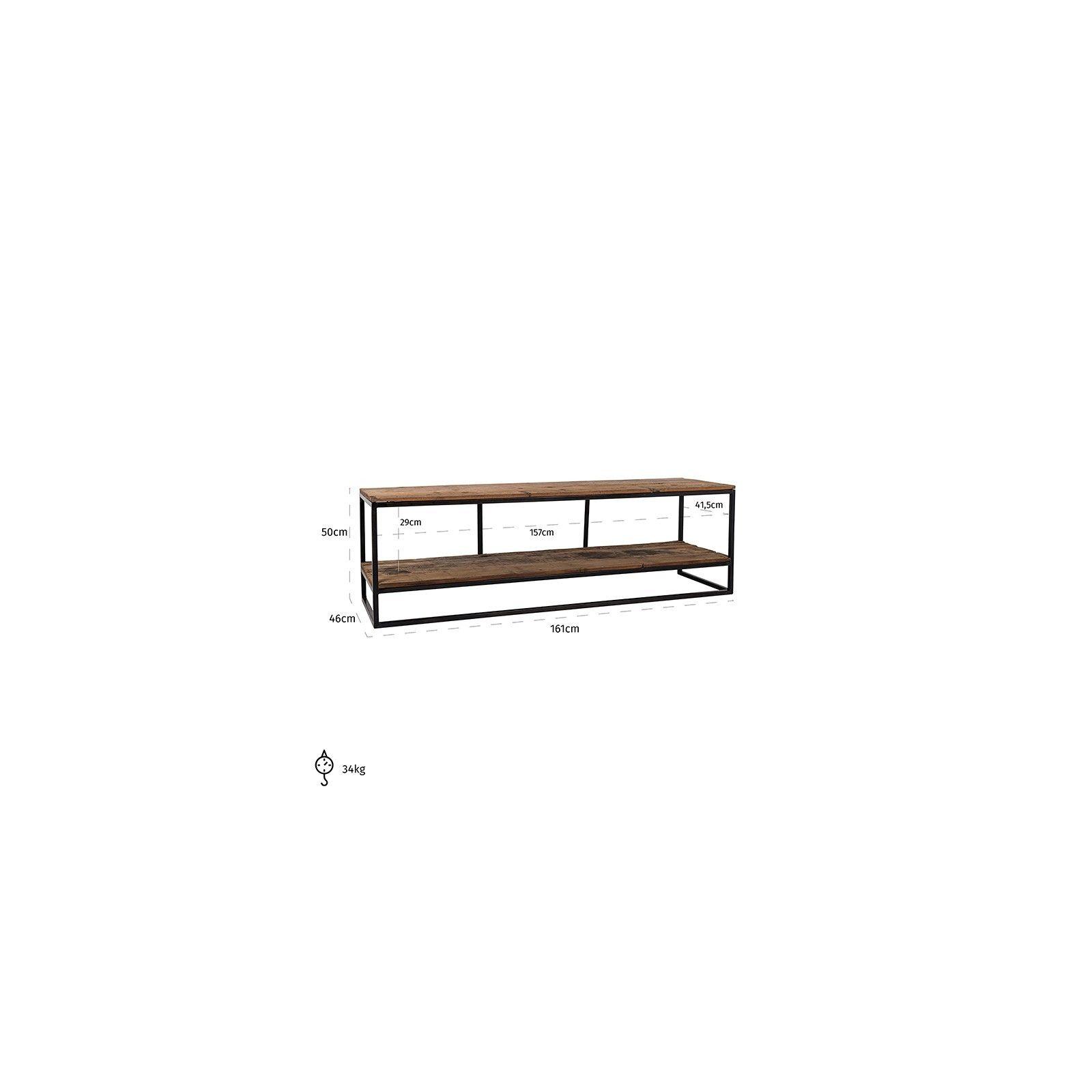 Meuble TV Raffles,  Recyceld wood Meuble Déco Tendance - 202