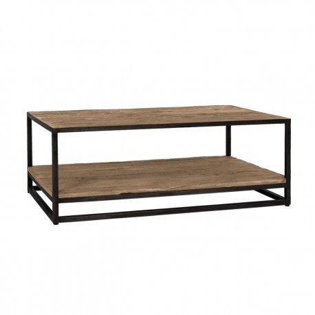 Table de salon Raffles, Recyceld wood