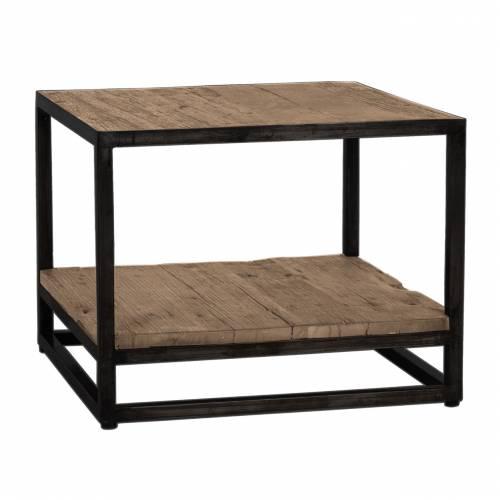 Table d'angle Raffles, Recyceld wood Meuble Déco Tendance - 2