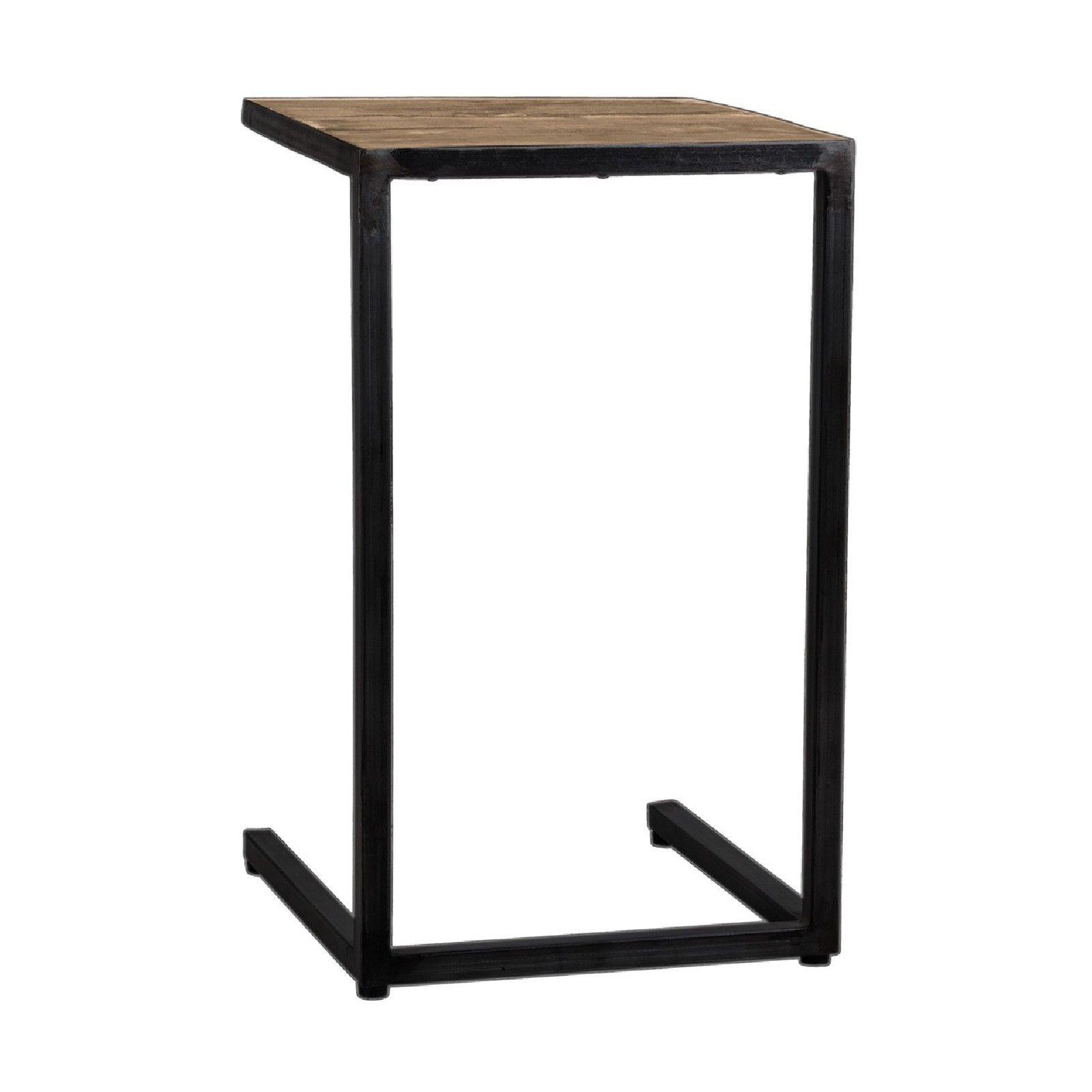 Table d'appoint Raffles, Recyceld wood Meuble Déco Tendance - 47