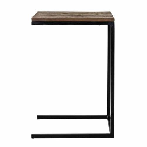 Table d'appoint Raffles, Recyceld wood Meuble Déco Tendance - 89