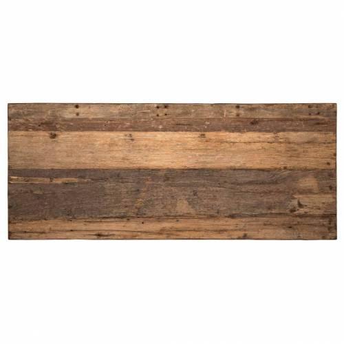 Table à dîner Raffles 200, Recyceld wood Meuble Déco Tendance - 194