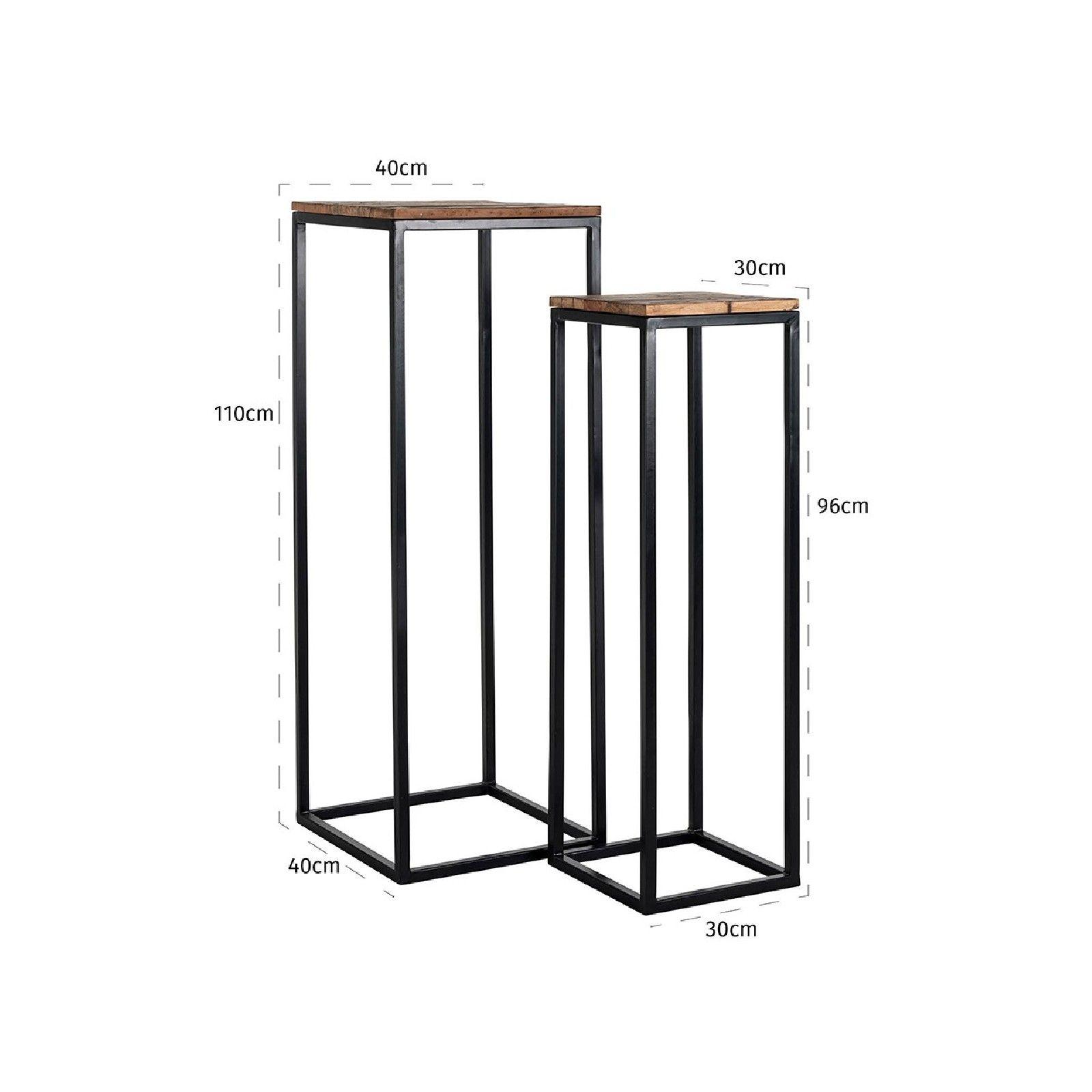 Pillar Raffles set of 2 Meuble Déco Tendance - 207