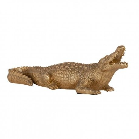 Art decoration Crocodile small