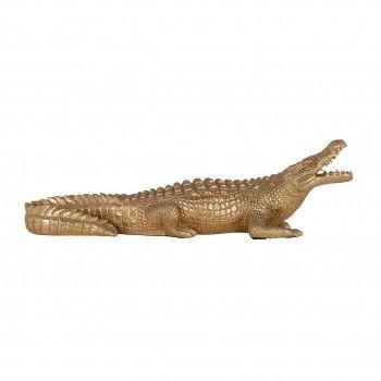 Art decoration Crocodile small Figures décoratives - 88