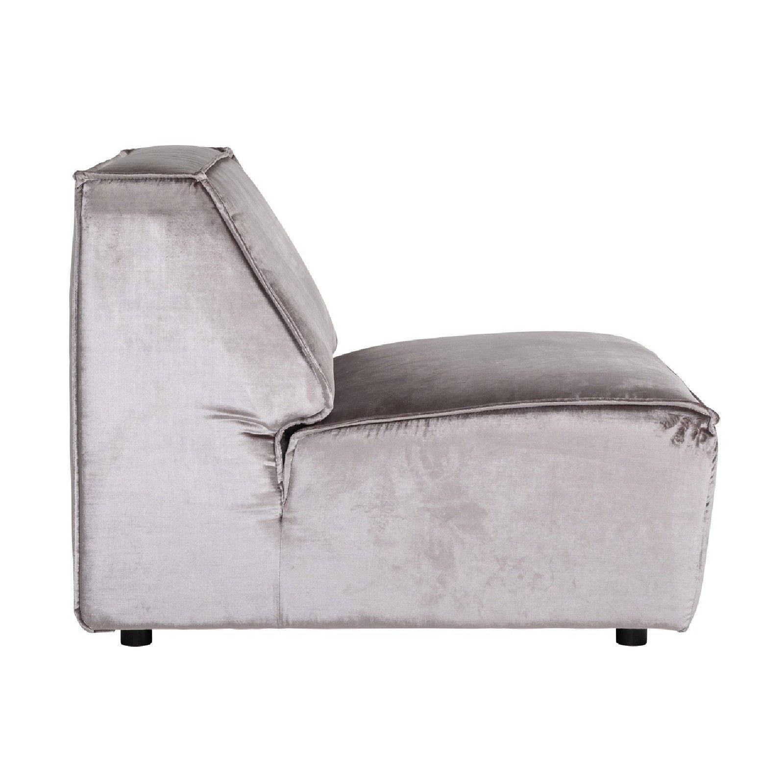 Module élément dossier 1,5 places pour canapé d'angle Devon Canapés d'angle - 124