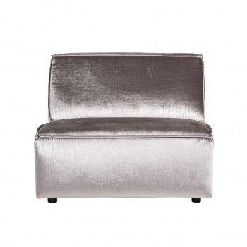 Module élément dossier 1,5 places pour canapé d'angle Devon Canapés d'angle - 197