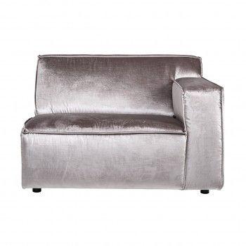 Module élément dossier 1,5 places pour canapé d'angle Devon Canapés d'angle - 262