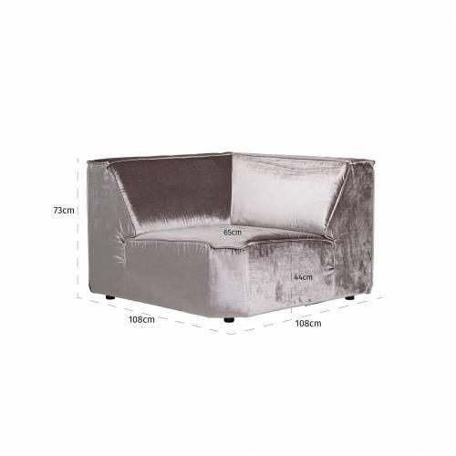 Module élément de coin pour canapé d'angle Devon Canapés d'angle - 186