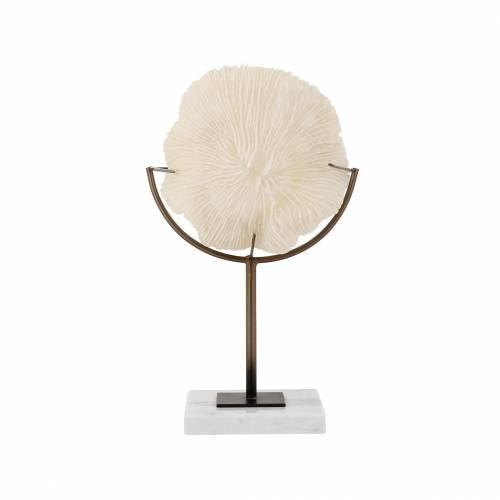 Faux Corail Jada sur pied Figures décoratives - 128