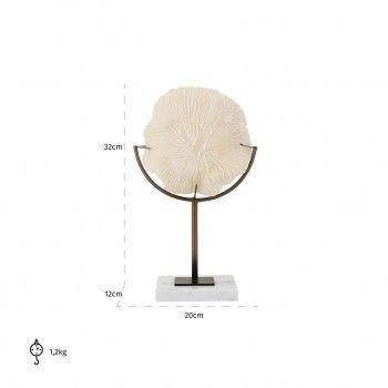 Faux Corail Jada sur pied Figures décoratives - 192