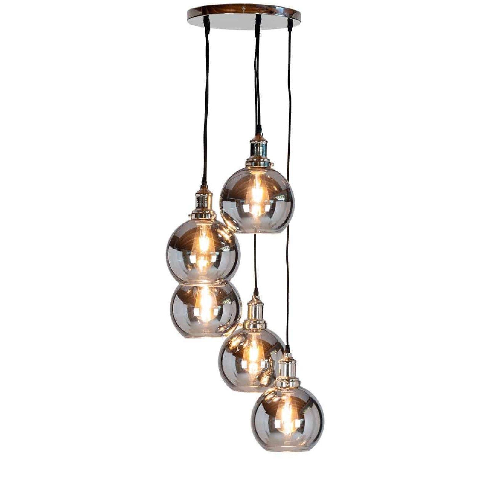 Lampe suspendue CamdonE27 / 60 watt (5 pieces) Suspensions et plafonniers - 9
